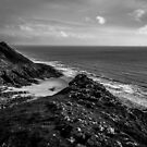 Cliffs of Pennard by digihill