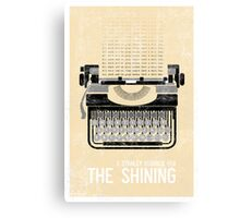 The Shining Minimalist Print  Canvas Print