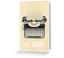 The Shining Minimalist Print  Greeting Card