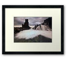 Bombo Falls Framed Print