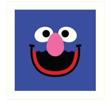 """Muppets """"Grover"""" Art Print"""