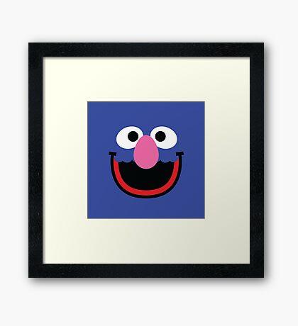 """Muppets """"Grover"""" Framed Print"""