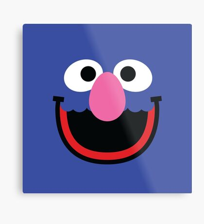 """Muppets """"Grover"""" Metal Print"""