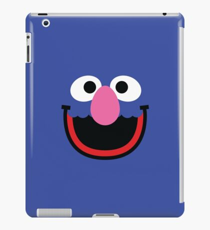 """Muppets """"Grover"""" iPad Case/Skin"""