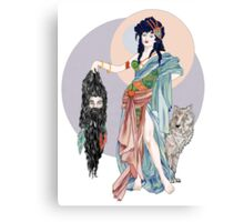 Hecate & Clytius Canvas Print