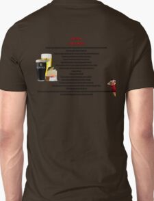 twelve rules to the twelve pubs/bars of christmas T-Shirt