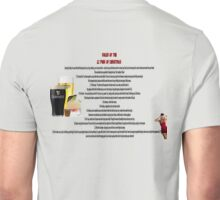twelve rules to the twelve pubs/bars of christmas Unisex T-Shirt