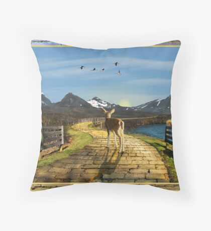 Searching for OZ Throw Pillow