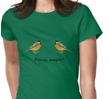 Parus major? Womens Fitted T-Shirt