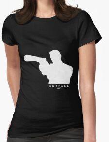 SKYFALL - James Bond 007 T-Shirt Womens Fitted T-Shirt