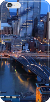 Pittsburgh at Dusk by ACImaging