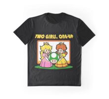 Two Girls, One Up Graphic T-Shirt