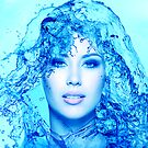 Water Effect Portrait by Kyle Whitehouse