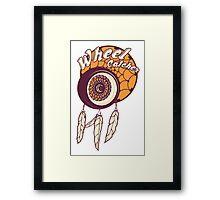 Wheel Catcher Framed Print
