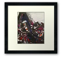 The Dark Side of the Moon (from Iron Sky) Framed Print