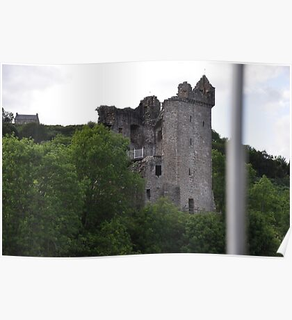 Scotland Castle Urquhart  Poster