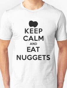 Keep Calm and Eat Nuggets (LS) Unisex T-Shirt