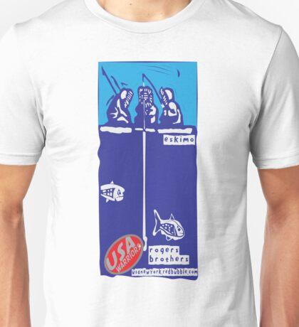 usa warriors eskimo by rogers bros Unisex T-Shirt