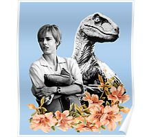 Amanda // Raptor - Woman Inherits The Earth Poster