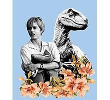 Amanda // Raptor - Woman Inherits The Earth Photographic Print