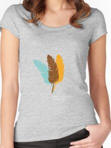 Indian Theories... Women's Fitted Scoop T-Shirt