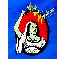 Viva Los Monstruos Photographic Print