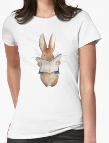 Peter Rabbit - Ink Womens Fitted T-Shirt
