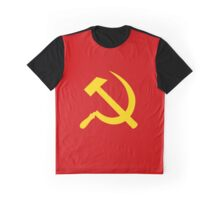 Soviet sickle Graphic T-Shirt