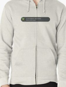 Xbox Achievement Unlocked Zipped Hoodie