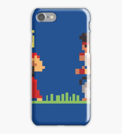 "Pixel Fighter ""Ken vs Ryu"" iPhone Case/Skin"