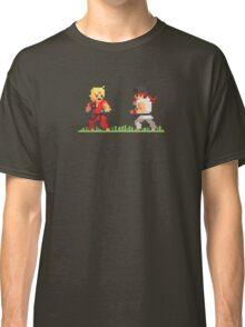 "Pixel Fighter ""Ken vs Ryu"" Classic T-Shirt"
