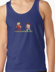 "Pixel Fighter ""Ken vs Ryu"" Tank Top"