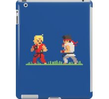 "Pixel Fighter ""Ken vs Ryu"" iPad Case/Skin"