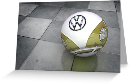 VW Ball _ Mustard by vinpez