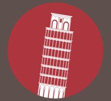 Pisa Tower One Piece - Short Sleeve