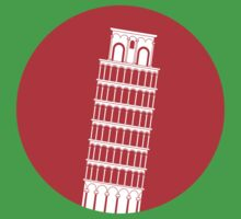 Pisa Tower Kids Clothes