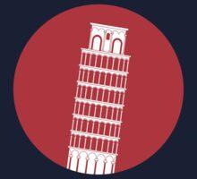 Pisa Tower Kids Tee