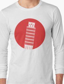 Pisa Tower Long Sleeve T-Shirt