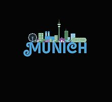 Skyline munich by ilovecotton