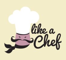 Like a chef incredibly cute cooking design by jazzydevil