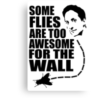 Too awesome for the wall Canvas Print