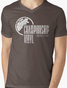 Championship Vinyl Mens V-Neck T-Shirt