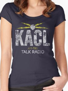 KACL AM-780 Talk Radio Women's Fitted Scoop T-Shirt