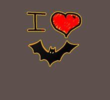 i love halloween bats Womens Fitted T-Shirt