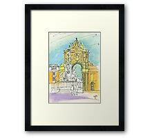Terreiro do Paço. Framed Print