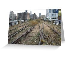 High Line, Abandoned Railyards Section, New York Greeting Card