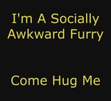 Socially Awkward Furry by Seven Menta