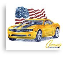 Camaro - transformers Canvas Print