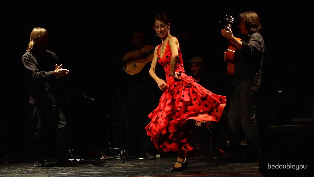Toca Flamenco Red Dance by bedoubleyou