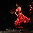 Toca Flamenco Red Dance by bedoubleyou